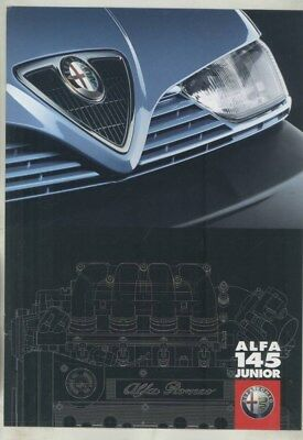 1998 Alfa 145 Junior Brochure German wz0494
