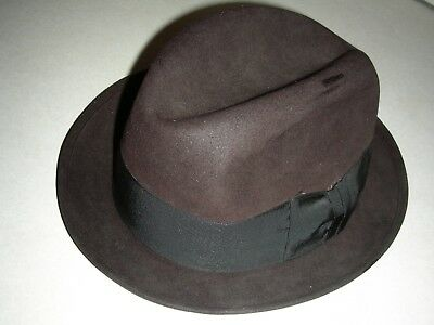 ROYAL STETSON men's hat beautiful brown from HOMER'S in CANTON OHIO