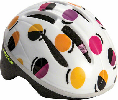 Lazer BOB Toddler Bicycle Helmet 46-52mm Black with Multi-Color Squares