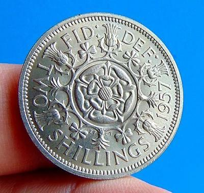 A  Super  Mint  Bu  Grade  1957  Two  Shillings  2/-....lucido_8  Coins
