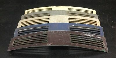 VW AirCooled Convertible Beetle Deck Lid Conversion Vents   1970 Only