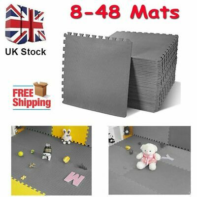 J Interlocking Eva Foam Protective Mats Gym Play Garage Workshop Floor Mat