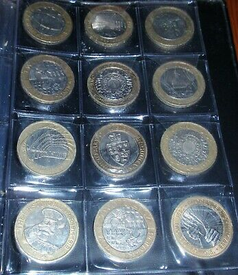 £2 Various Rare Valuable, 2 pound coins