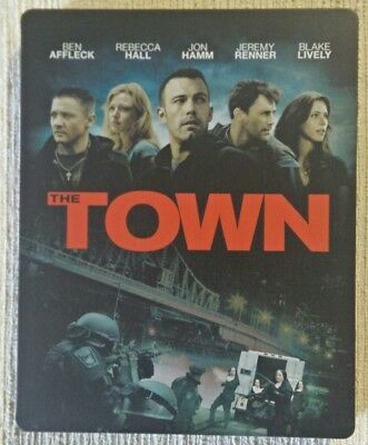 The Town Blu Ray Steelbook Action Crime Adventure Hiest Movie