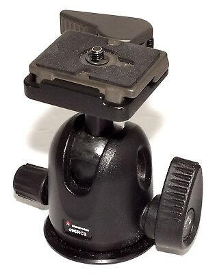 Manfrotto 496RC2 Compact Ball Head in NEAR MINT condition - VERY NICE !!!!