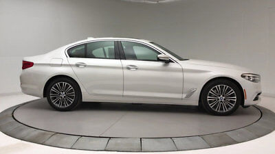 2018 BMW 5-Series 540i 540i 5 Series New 4 dr Sedan Automatic Gasoline 3.0L Straight 6 Cyl Mineral Whit