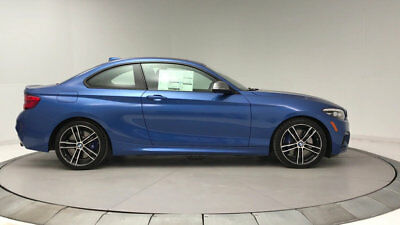 2018 BMW 2 Series M240i M240i 2 Series New 2 dr Coupe Automatic Gasoline 2.0L 4 Cyl Estoril Blue Metalli