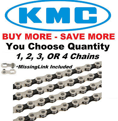 MultiPack BULK KMC X11.93 11 Speed Bike Chain Nickle fit Shimano SRAM Campagnolo