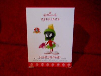 Hallmark 2017 I Claim This Planet Marvin The Martian Looney Tunes Limited Quanty