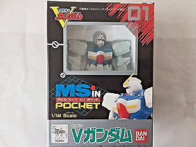 MS in Pocket # 01 V Gundam 1/144 Action Figure Kit by Bandai (Rare)