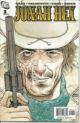 Jonah Hex # 1 Dc Comics 2006 1St Printing Frank Quitely Cover Near Mint