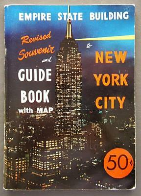 Original Vintage New York City Revised Souvenir and Guide Book 1950's?