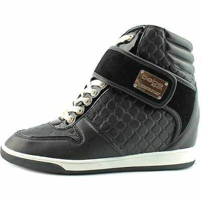 3195421f7e8 BEBE SPORT COLBY Wedge Women Fashion HighTop Sneakers US Size 9.5 M ...