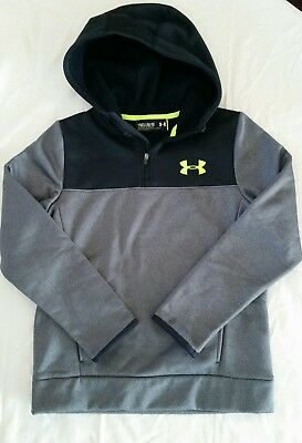 Youth Medium Under Armour Storm 1/2 Zip Hoodie
