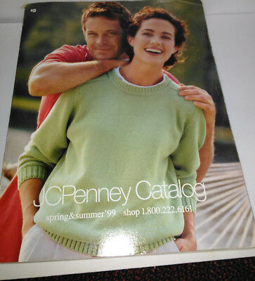 1999 JCPenney Catalog Spring & Summer Fashion Home Decor Vintage Original