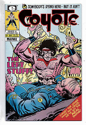 Coyote #15 and #16, Epic(Marvel),1985, VF-NM