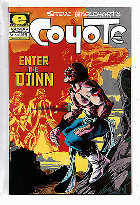 Coyote #3 and #4, Epic(Marvel),1983, VF-NM