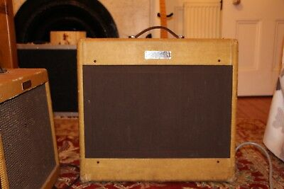 1953 Fender Pro Amp 15 Inch Speaker Origianal 65 Years Old Mint Condition