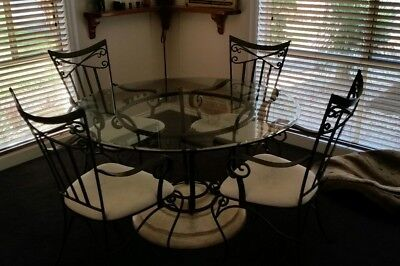 table and chairs used