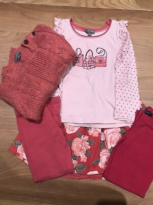 Girls Size 5 Bulk Lot  Pumpkin Patch Matching Set Exc Cond