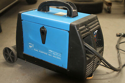 MIG WELDER 160 amp gassles. Made in Italy.