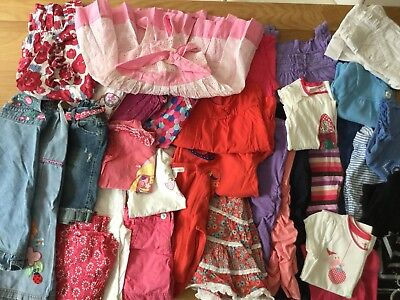 Girls Size 4 Bulk Lot Clothing Pumpkin Patch , Esprit, Milkshake ( 33 Items)