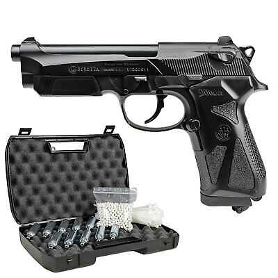 Komplettset Beretta 90two Softair-Co2-Pistole Kaliber 6 mm BB NBB > 0,5 J (P18)