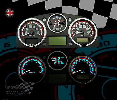 Land Rover Discovery 3 speedo KM/H int dash lighting custom upgrade dial kit