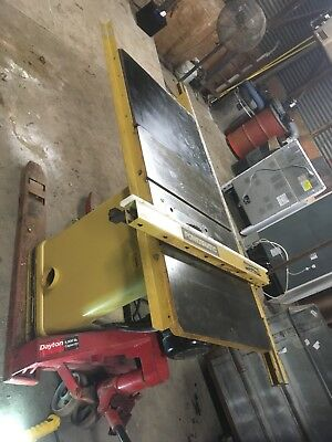 USED Powermatic 66 Table Saw 5HP 3 phase