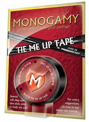 Monogamy Tie Me Up Tape Creative Conceptions