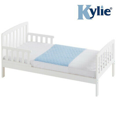 Kylie Junior Bed Pad - Blue - 1 Litre - Absorbent Bed Protector