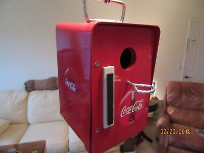 Coca-Cola Birdhouse Coke box repurposed metal and wood Coca Cola Bird House