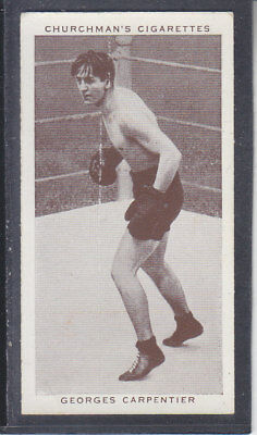 Churchman - Boxing Personalities 1938 - # 8 Georges Carpentier