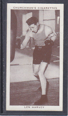 Churchman - Boxing Personalities 1938 - # 18 Len Harvey