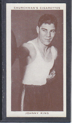Churchman - Boxing Personalities 1938 - # 23 Johnny King