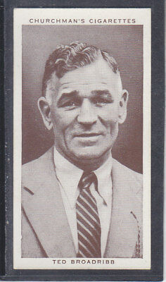 Churchman - Boxing Personalities 1938 - # 45 Ted Broadribb