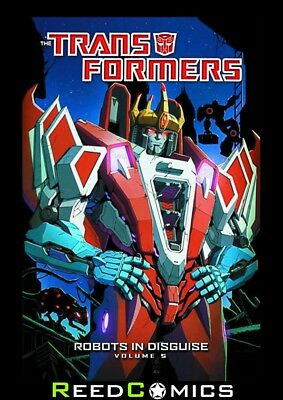 TRANSFORMERS ROBOTS IN DISGUISE VOLUME 5 GRAPHIC NOVEL Paperback Collects #17-22