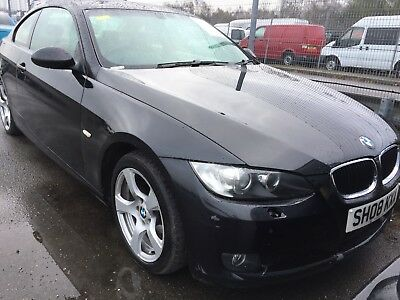 08 Bmw 320 2.0 Se Coupe Full Cream Leather, Climate, Alloys, Long Mot *cat C*