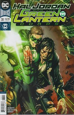 Dc Hal Jordan And The Green Lantern Corps #38 Variant First Print