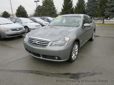 2006 Infiniti M35 AWD- Action or Auction- AWD- Action or Auction- 4 dr Sedan Automatic Gasoline 3.5L V6 Cyl SILVER