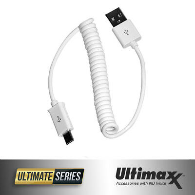 ULTIMAXX Coil Micro USB Data Cable For Android Devices for DJI Phantom Remotes