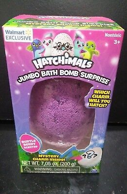 Hatchimals JUMBO Bath Bomb Surprise! Burtle Berry Scented