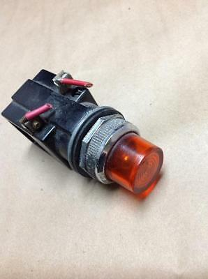 Furnas Electric 52PA4EN 120V Orange Cap Indicator Light USNP (B13)
