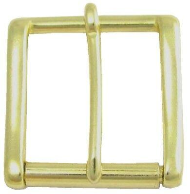 "38mm Solid Brass Heavy Duty Roller Belt Buckle for snap fit belts 1.5"" wide. ZC1"
