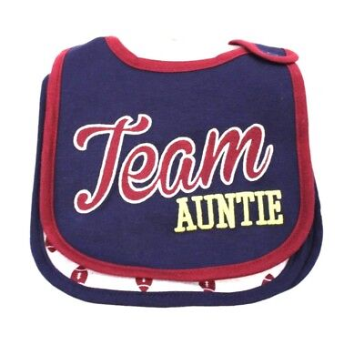 Carter's Boy's Team Auntie 3 Teething Bibs SN2 Multi-Color One Size