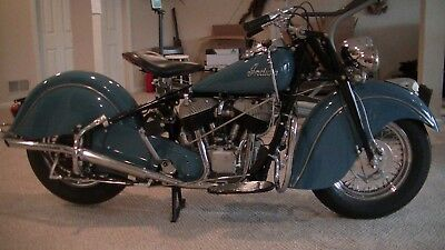 1948 Indian Chief  1948 Indian Chief Model 348 (Outstanding total Restoration)