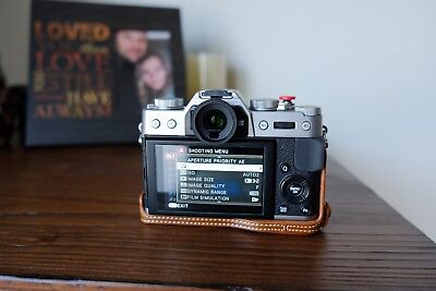 Fujifilm X-T10 16.3MP Digital Camera - Silver (Body Only) with lots of extras