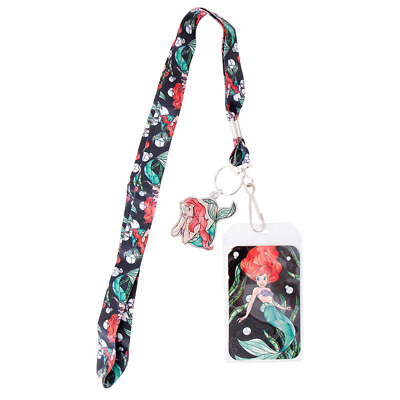 Disney - The Little Mermaid Ariel Loungefly Lanyard - Loot - BRAND NEW