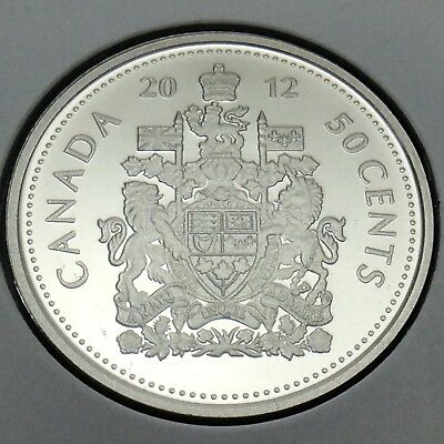 2012 Canada Nickel Specimen 50 Fifty Cents Canadian Uncirculated Coin E210