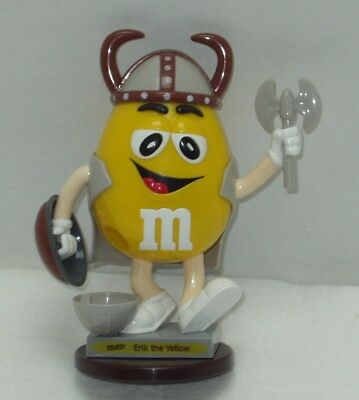 M&m Collectible - Erik The Yellow - Candy Dispenser - Needs New Home!